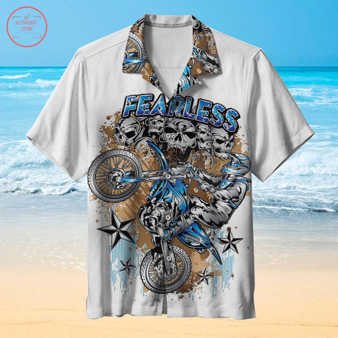 Husqvarna Art Hawaiian Shirt
