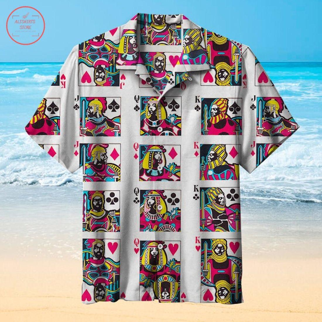 I Love Poker Unisex Hawaiian Shirt