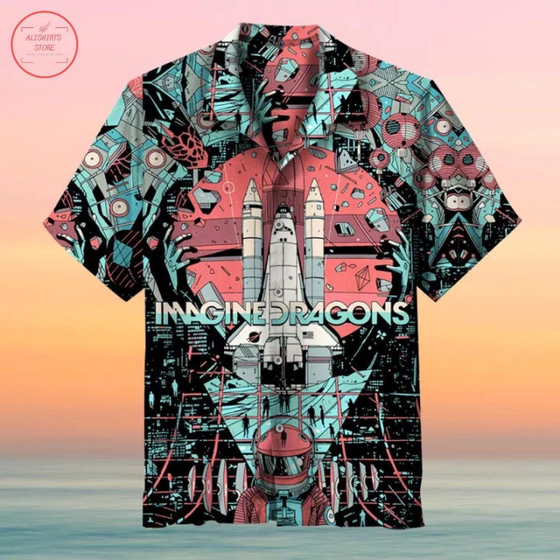 Imagine Dragons Hawaiian Shirt