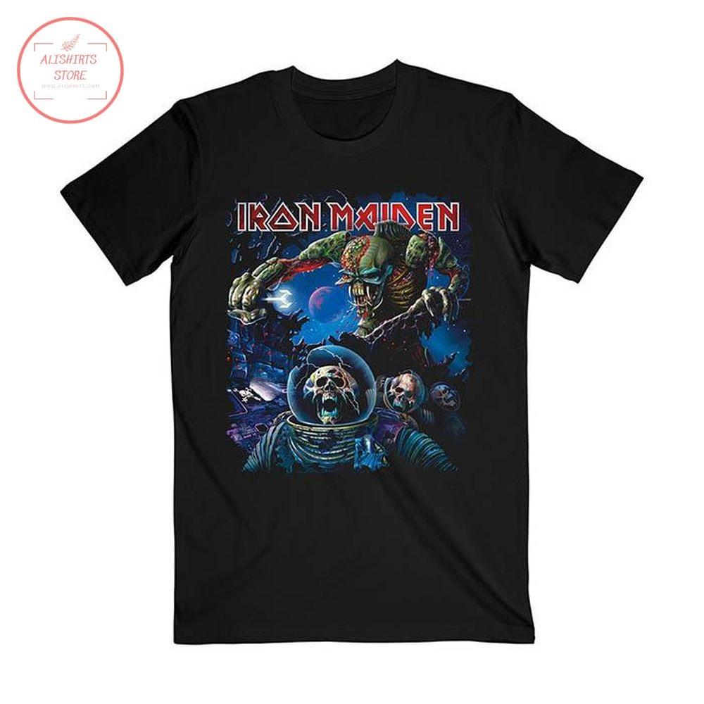 Iron Maiden Final Frontier Album Shirt