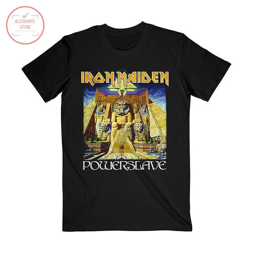Iron Maiden Powerslave World Slavery Tour Shirt