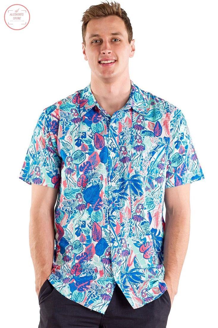 Island Breeze Hawaiian Shirt