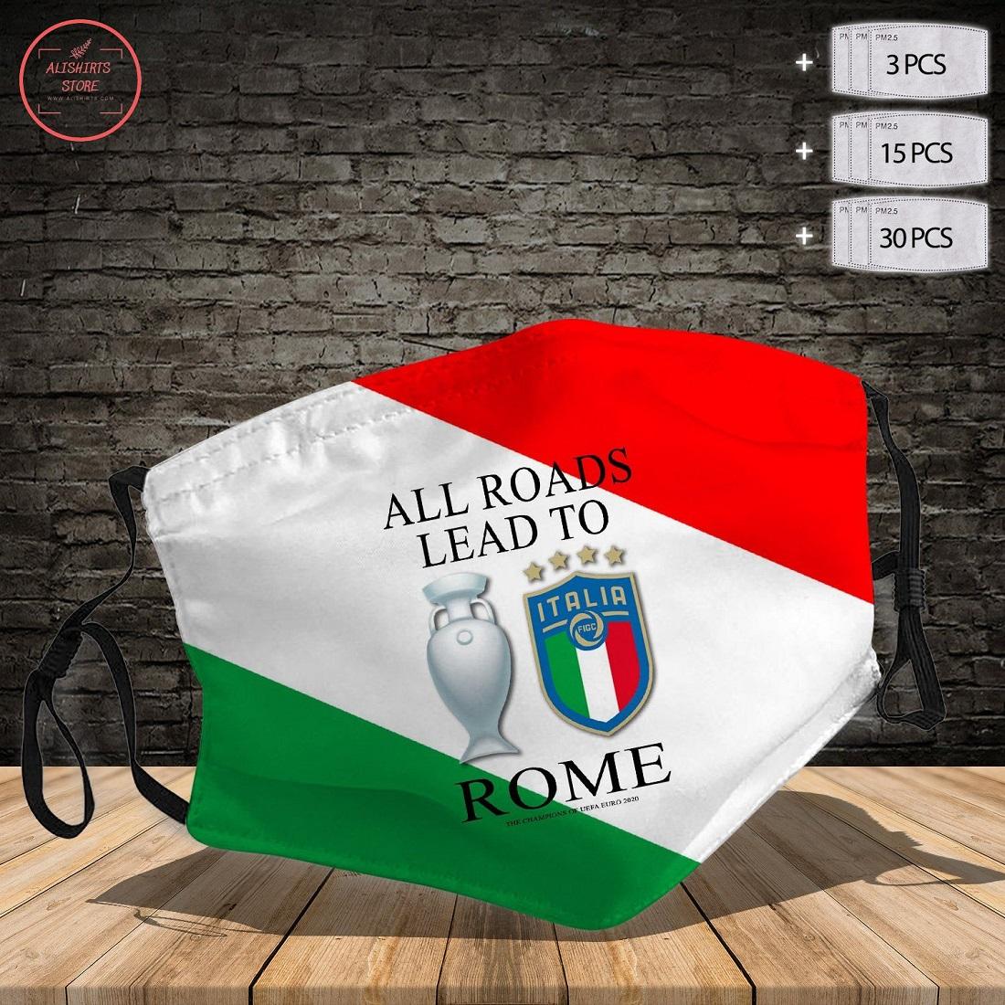 Italia Champions Euro 2021 Face Mask