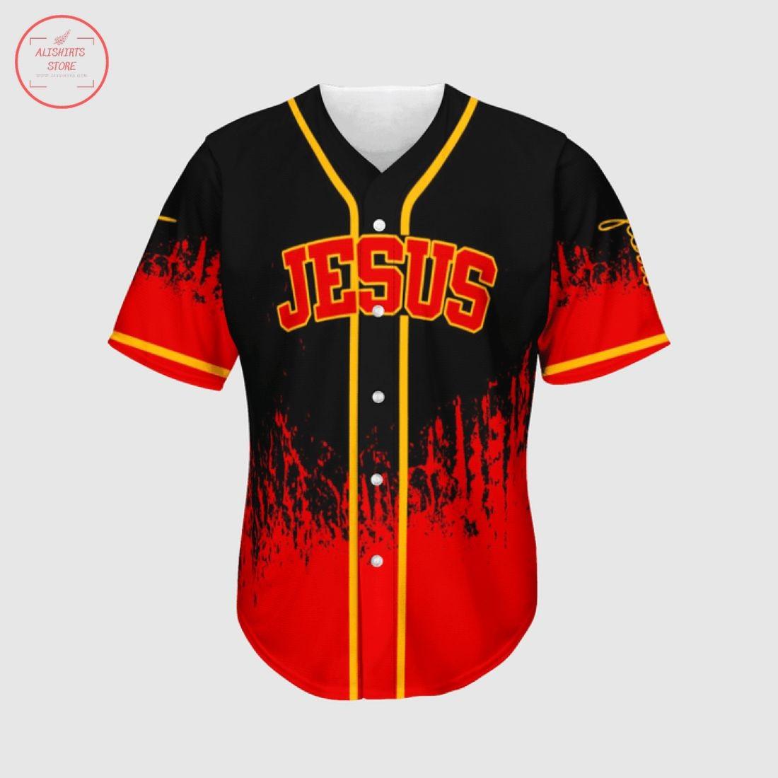 Jesus Saves My Life Baseball Jersey