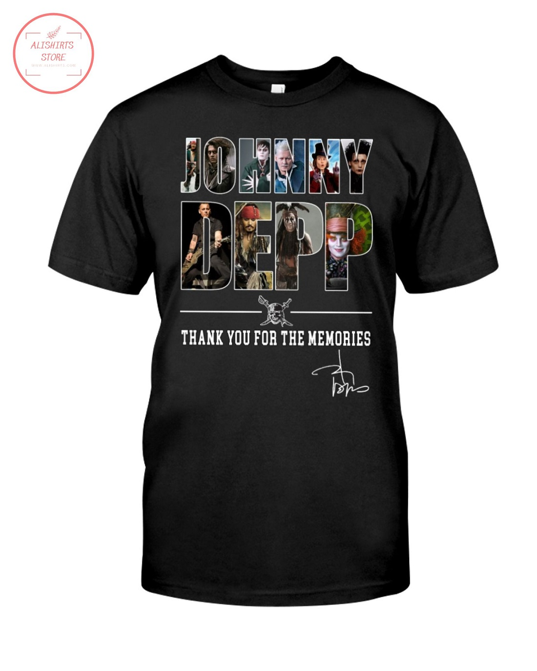 Johnny Deep Thank You For The Memories Shirt