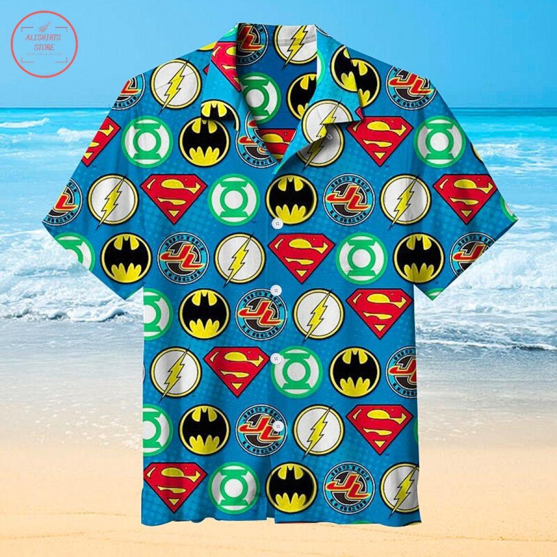 Justice League Universal Hawaiian Shirt