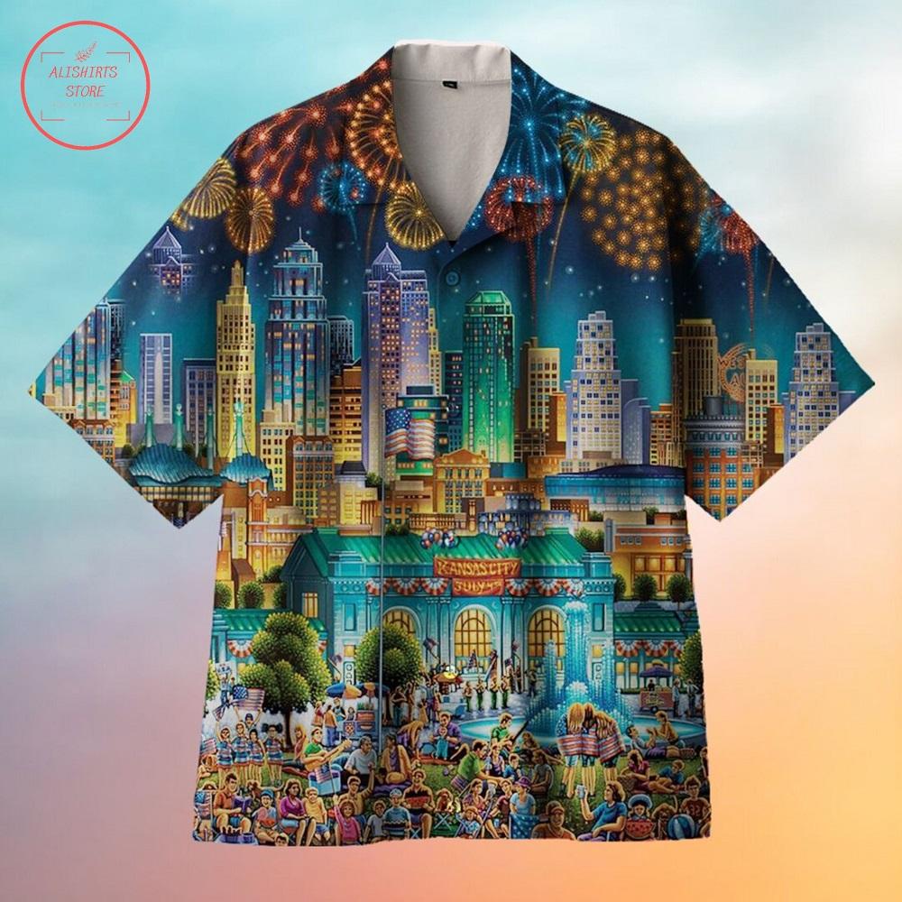 Kansas City Hawaiian Shirt