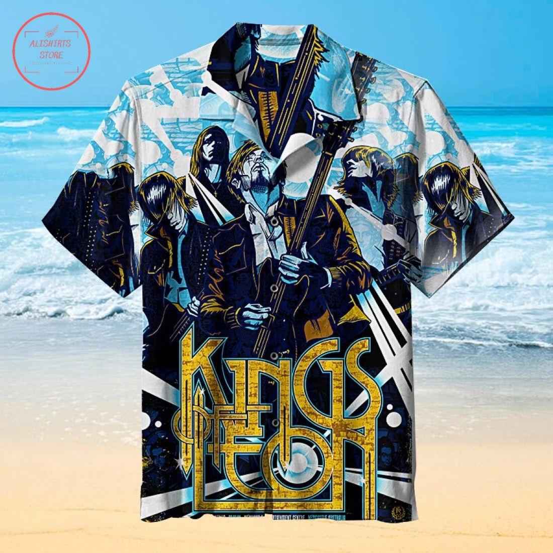 Kings of Leon Universal Hawaiian Shirt