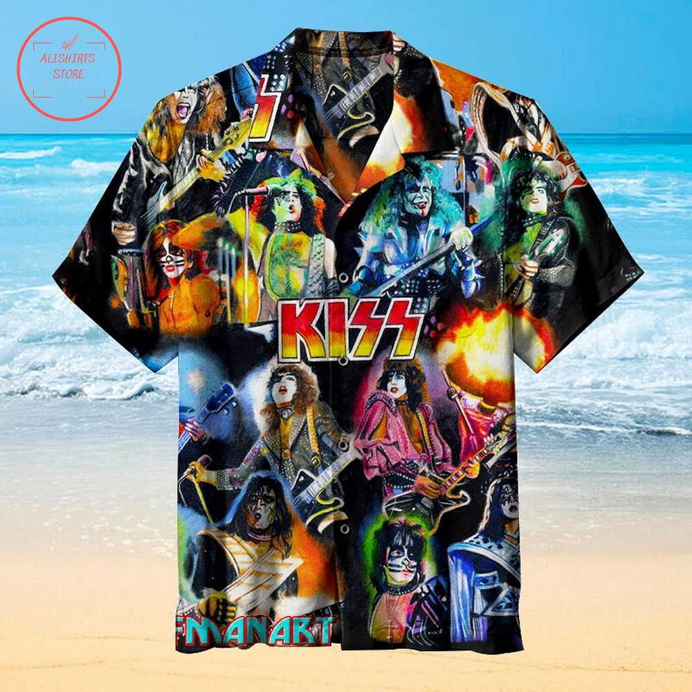 Kiss Band 2021 Hawaiian Shirt