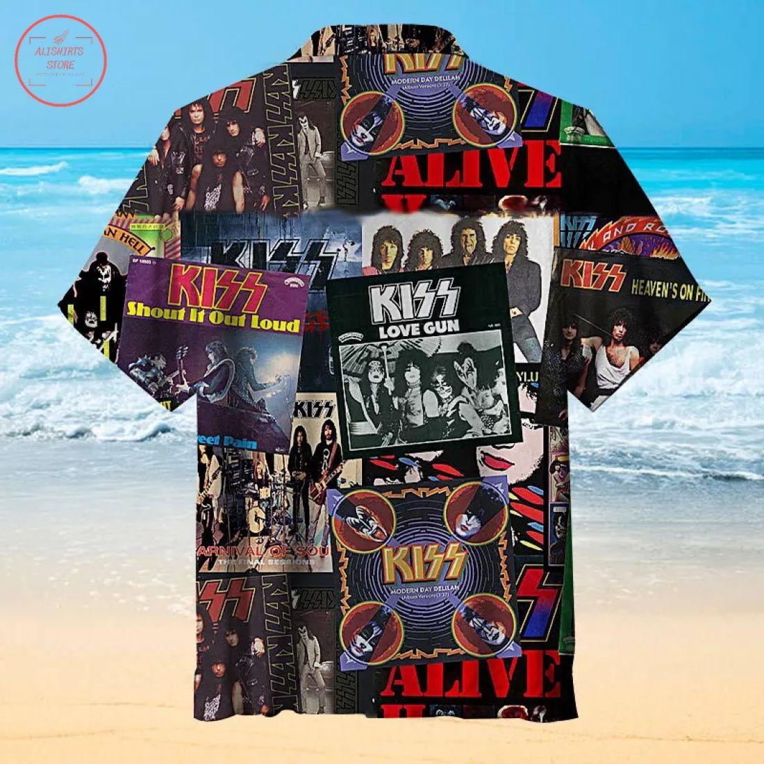Kiss Best Hawaiian Shirt