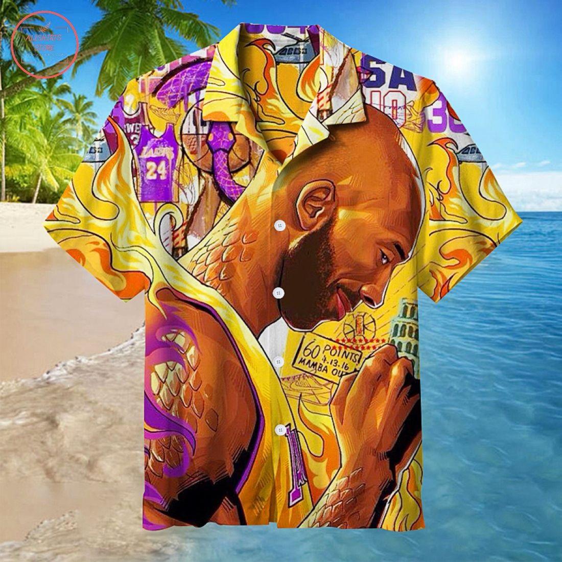 Kobe Bryant Hawaiian Shirt