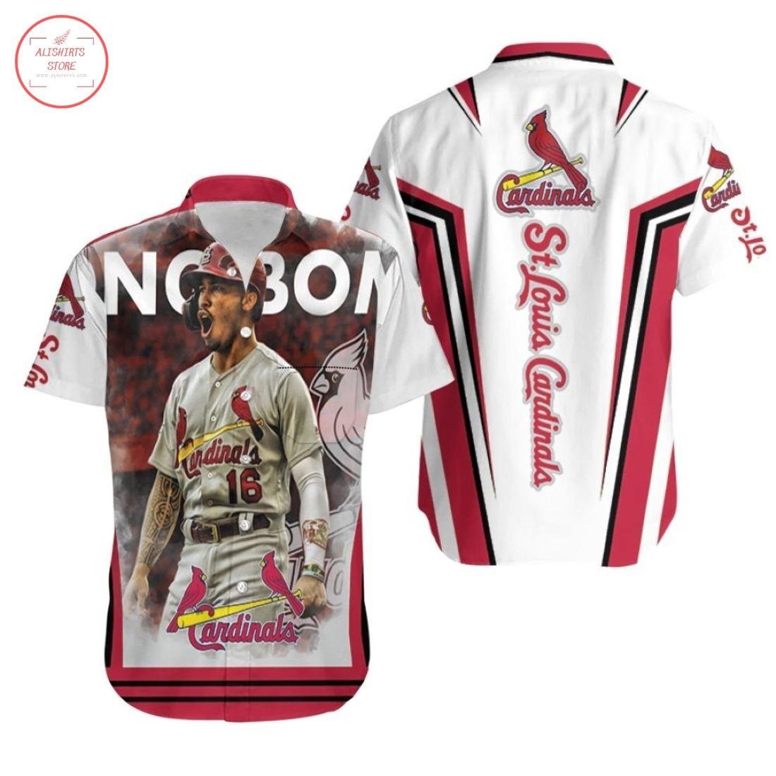 Kolten Wong St Louis Cardinals Hawaiian Shirts