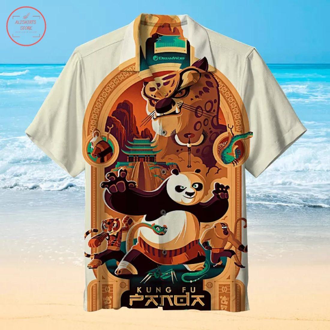 Kung Fu Panda Hawaiian Shirt
