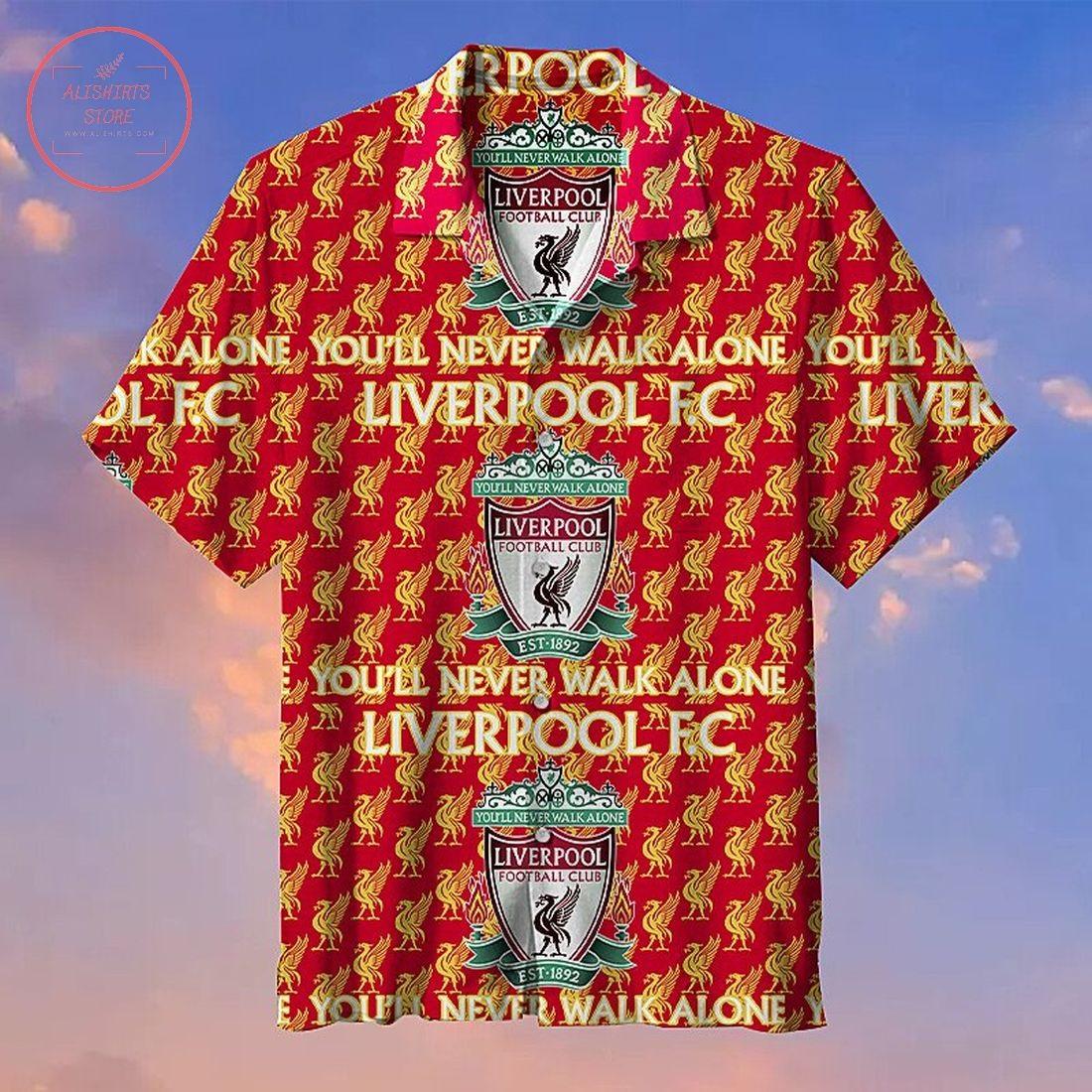 Liverpool F.C. Fans Commemorative Hawaiian Shirt
