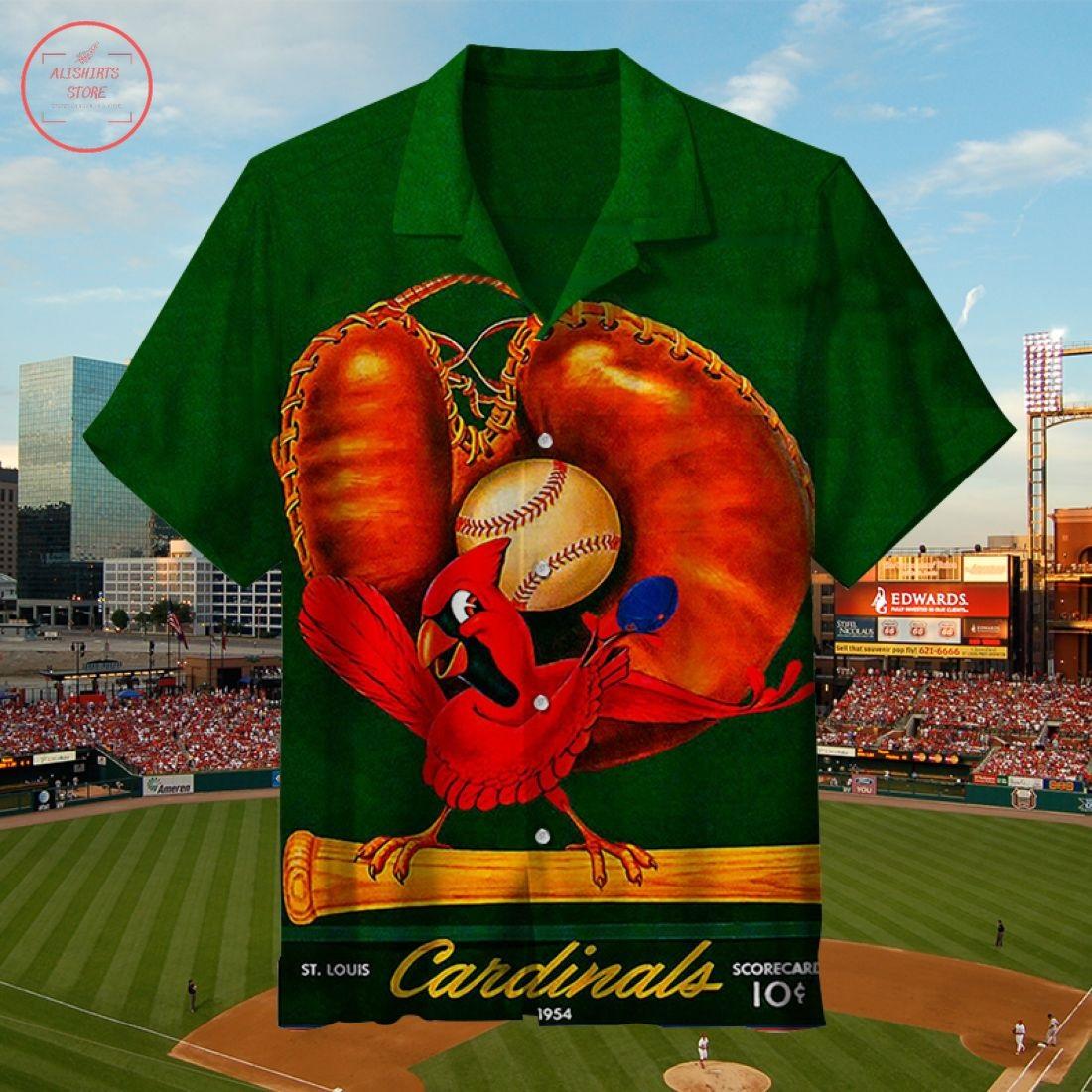 MLB 1954 Saint Louis Cardinals Hawaiian Shirt