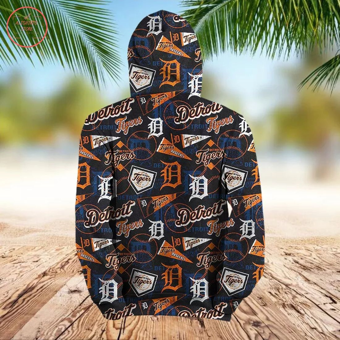 MLB Detroit Tigers 3D Hoodie