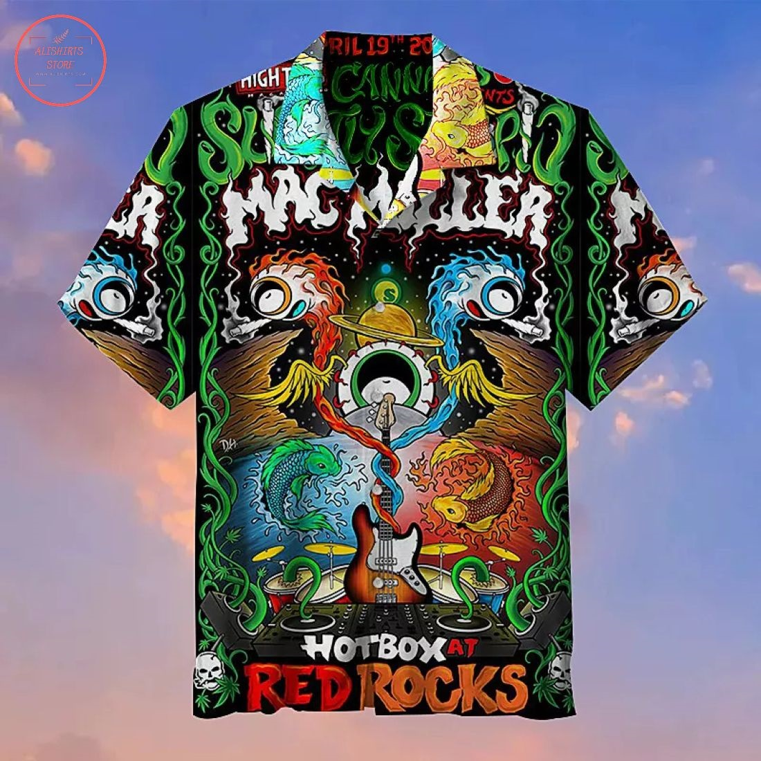 Mac Miller Red Rocks Hawaiian Shirt