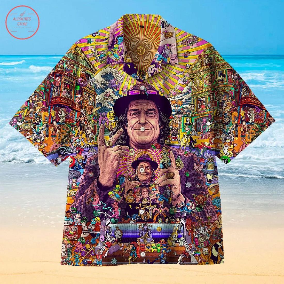 Mark in Blotterland Hawaiian Shirt