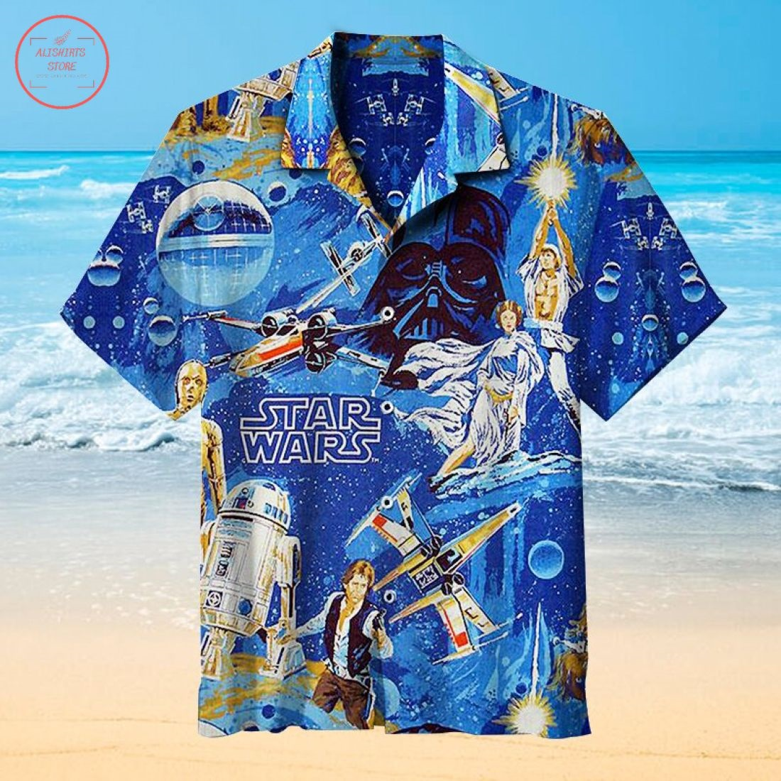 May the Force be with you Hawaiian shirt