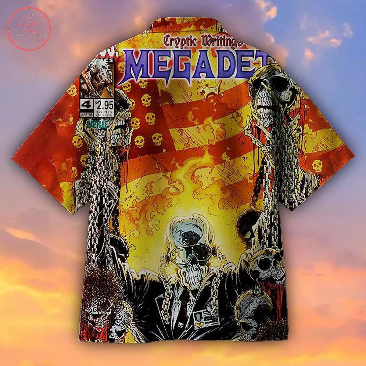 Megadeth Album Hawaiian Shirt