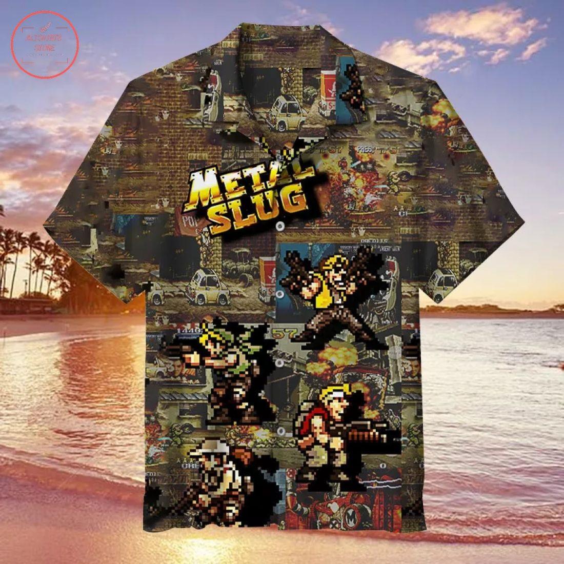 Metal Slug Hawaiian Shirt