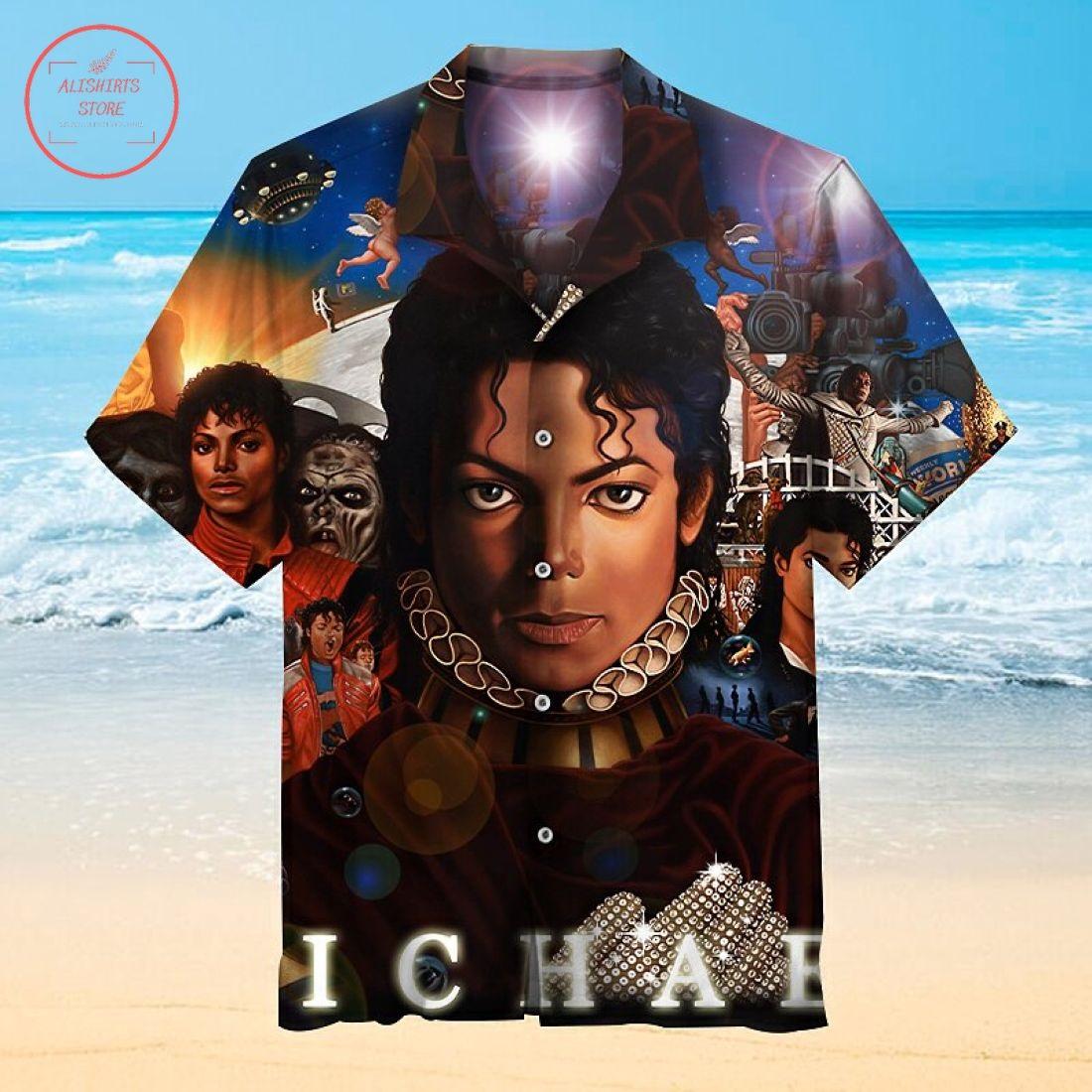 Michael Jackson Hawaiian Shirt