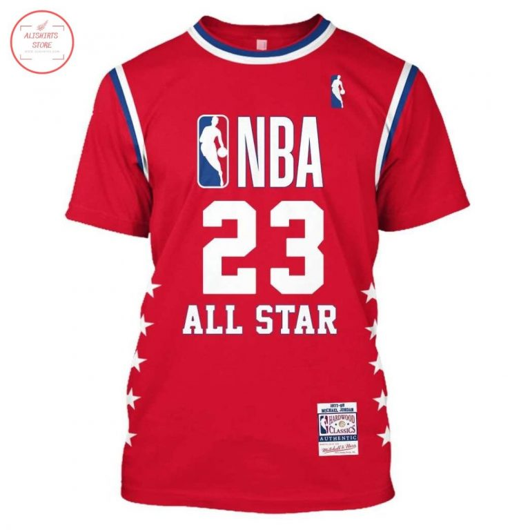 Michael Jordan 23 All Star NBA Shirt