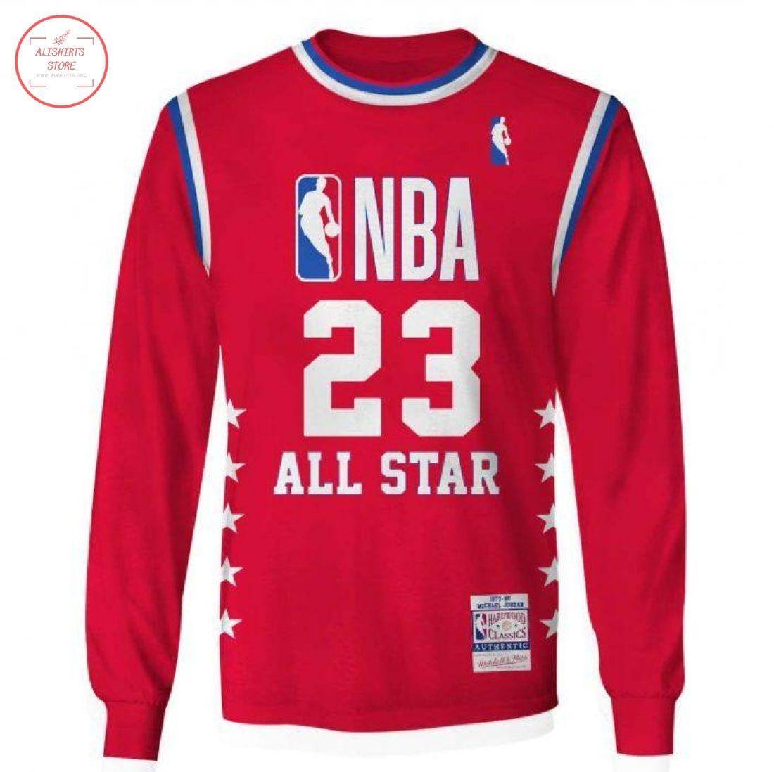 Michael Jordan 23 All Star NBA Sweatshirt