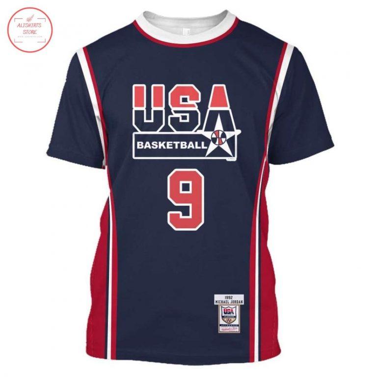 Michael Jordan 9 Limited Edition USA Shirt