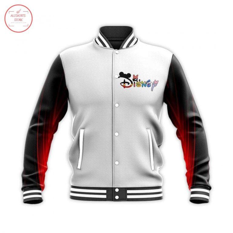 Mickey Fantasia Love Disney Letterman Jacket