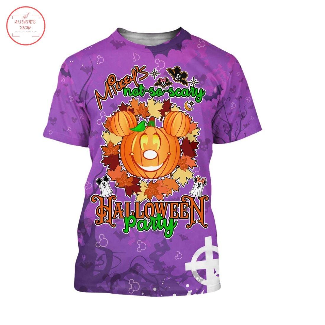 Mickey Pumpkin Head Happy Halloween Shirt