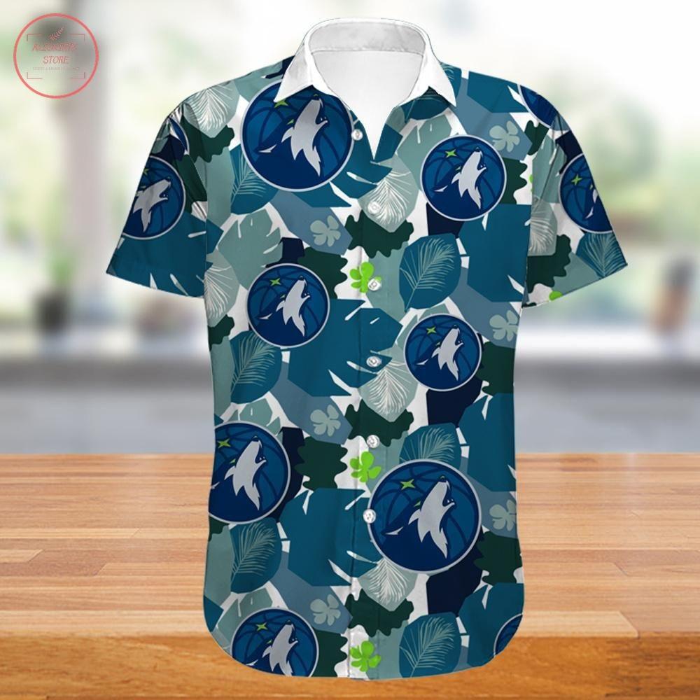 Minnesota Timberwolves Hawaiian Shirt