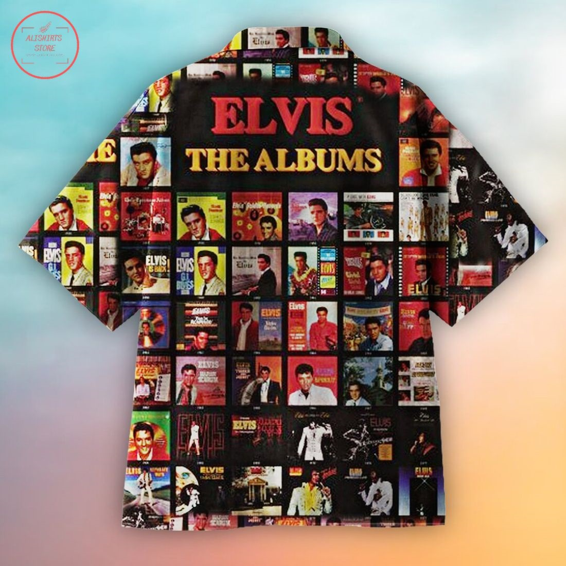Miss the handsome Elvis Hawaiian Shirt