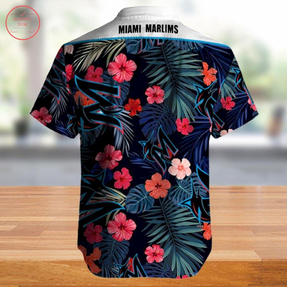 Mlb Miami Marlins Hawaiian Shirt