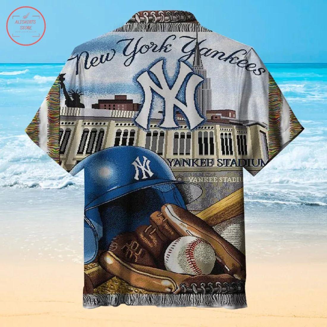 Mlb New York Yankees Hawaiian shirt
