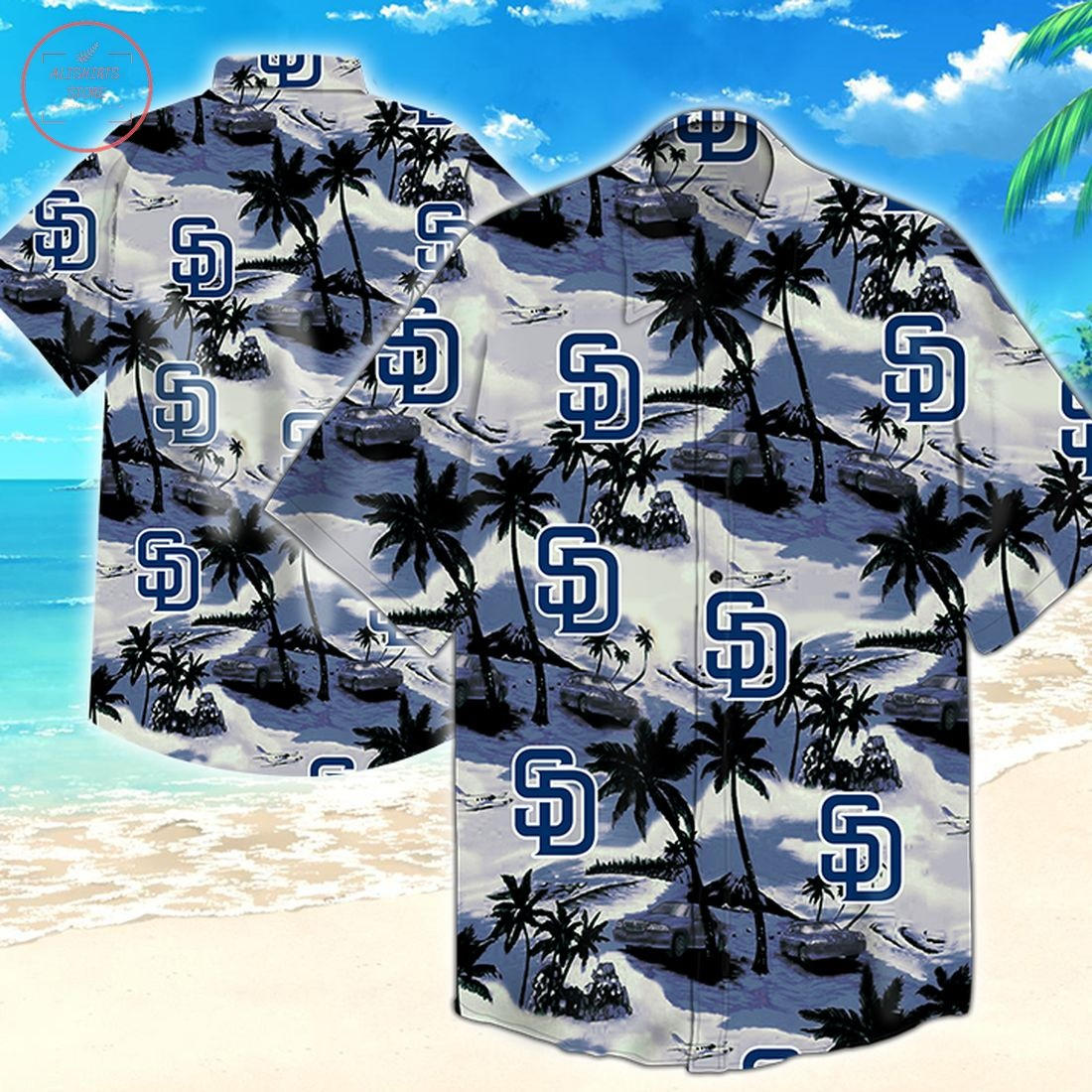 Mlb San Diego Padres Hawaiian Shirt