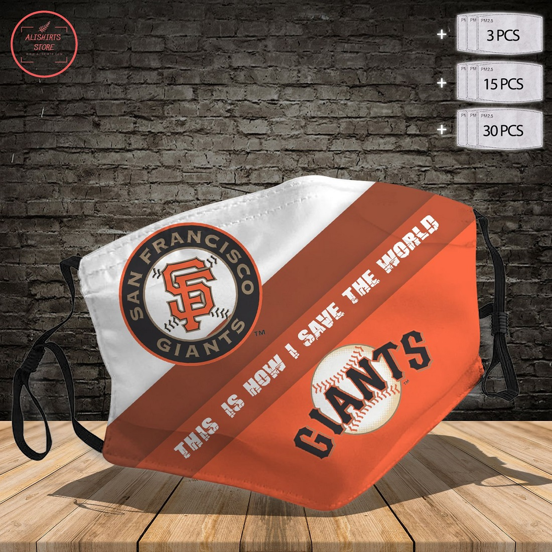 Mlb San Francisco Giants Face Mask
