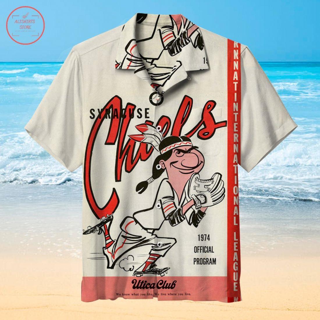 Mlb Syracuse Mets Hawaiian shirt