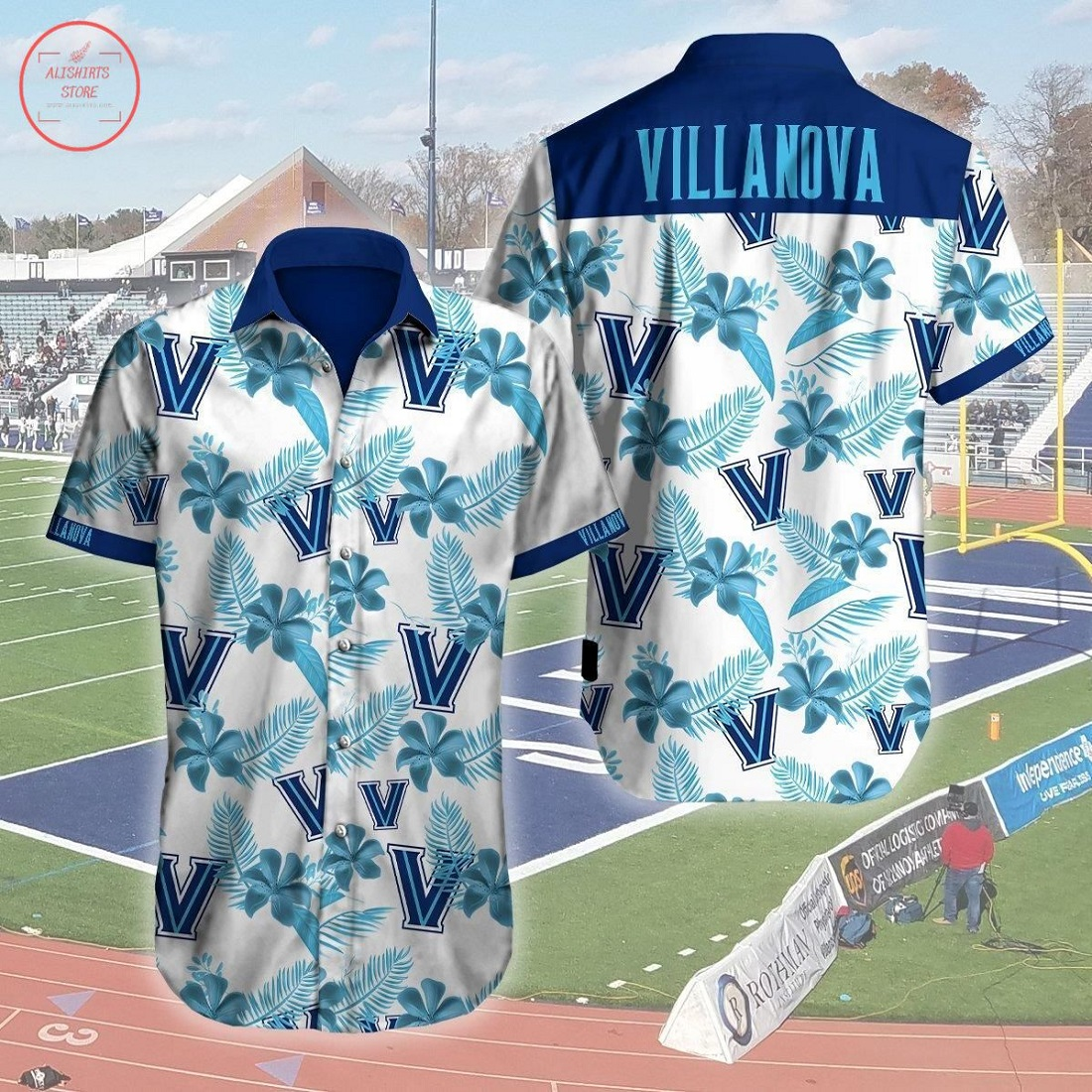 Mlb Villanova Wildcats Hawaiian Shirt