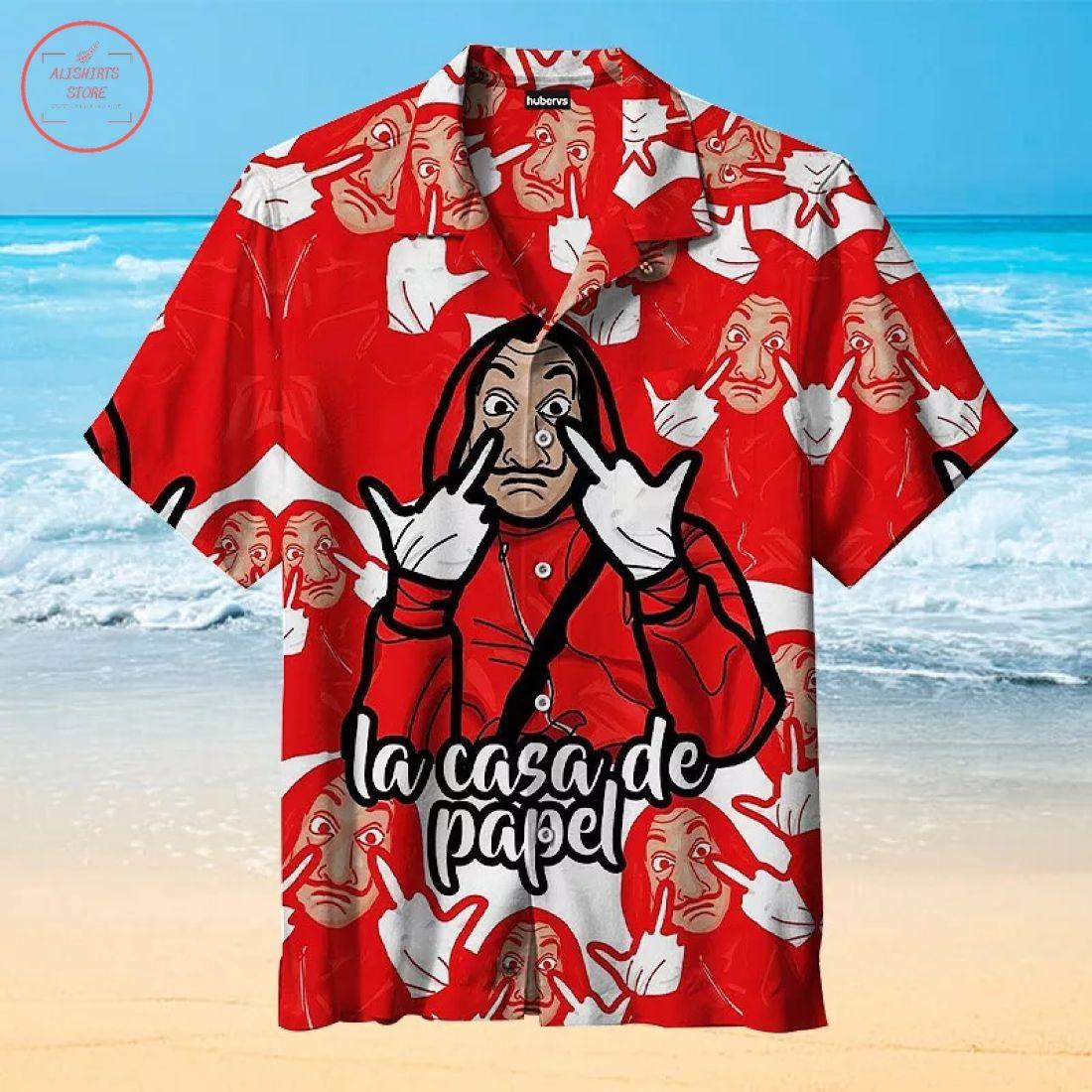 Money Heist Hawaiian Shirt