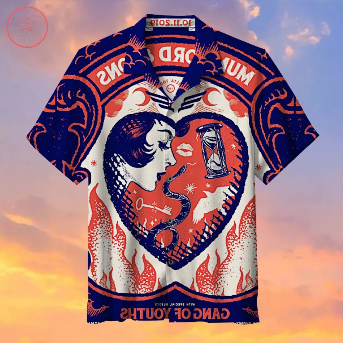 Mumford & Sons Hawaiian Shirt