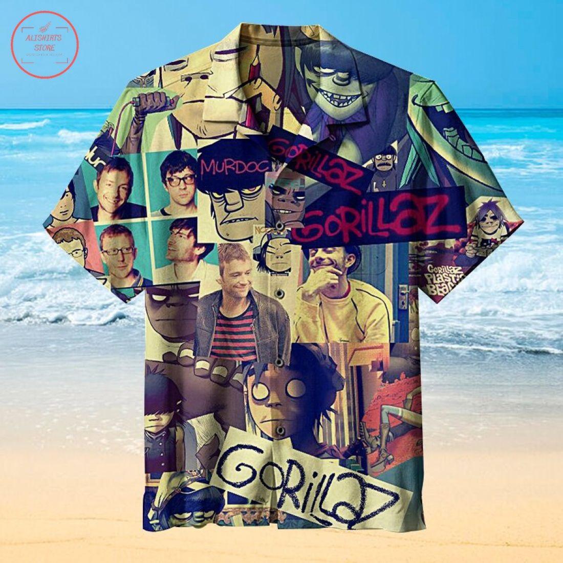 Murdoc Gorillaz Hawaiian Shirt