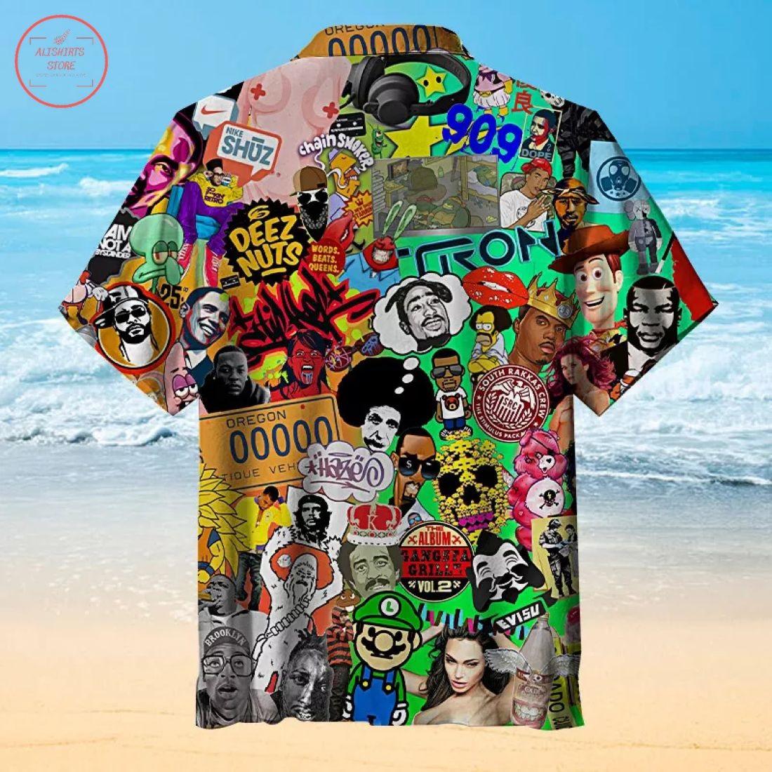 Music Pop Culture Hawaiian Shirt