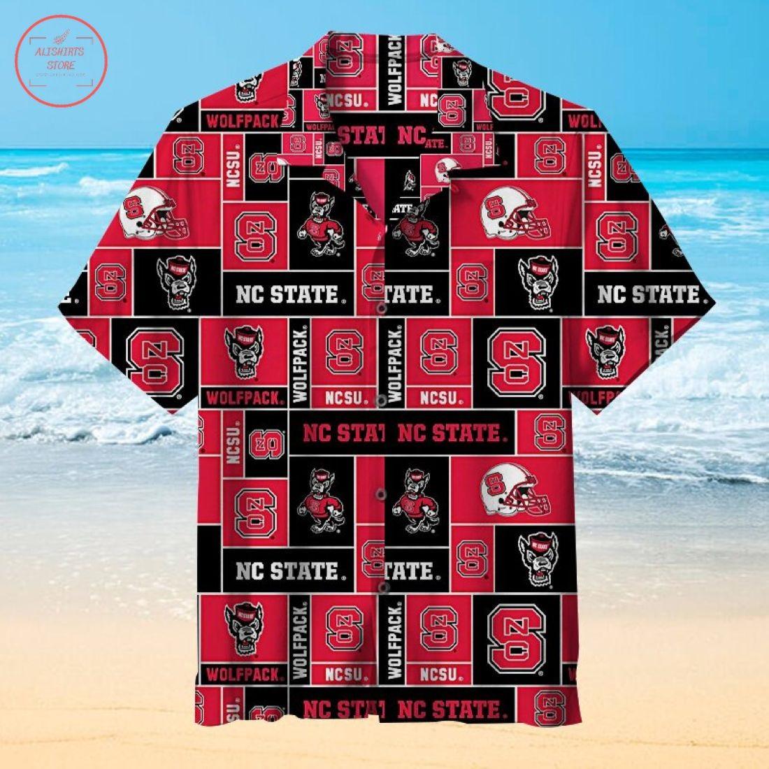 NC State Wolfpack Hawaiian Shirt