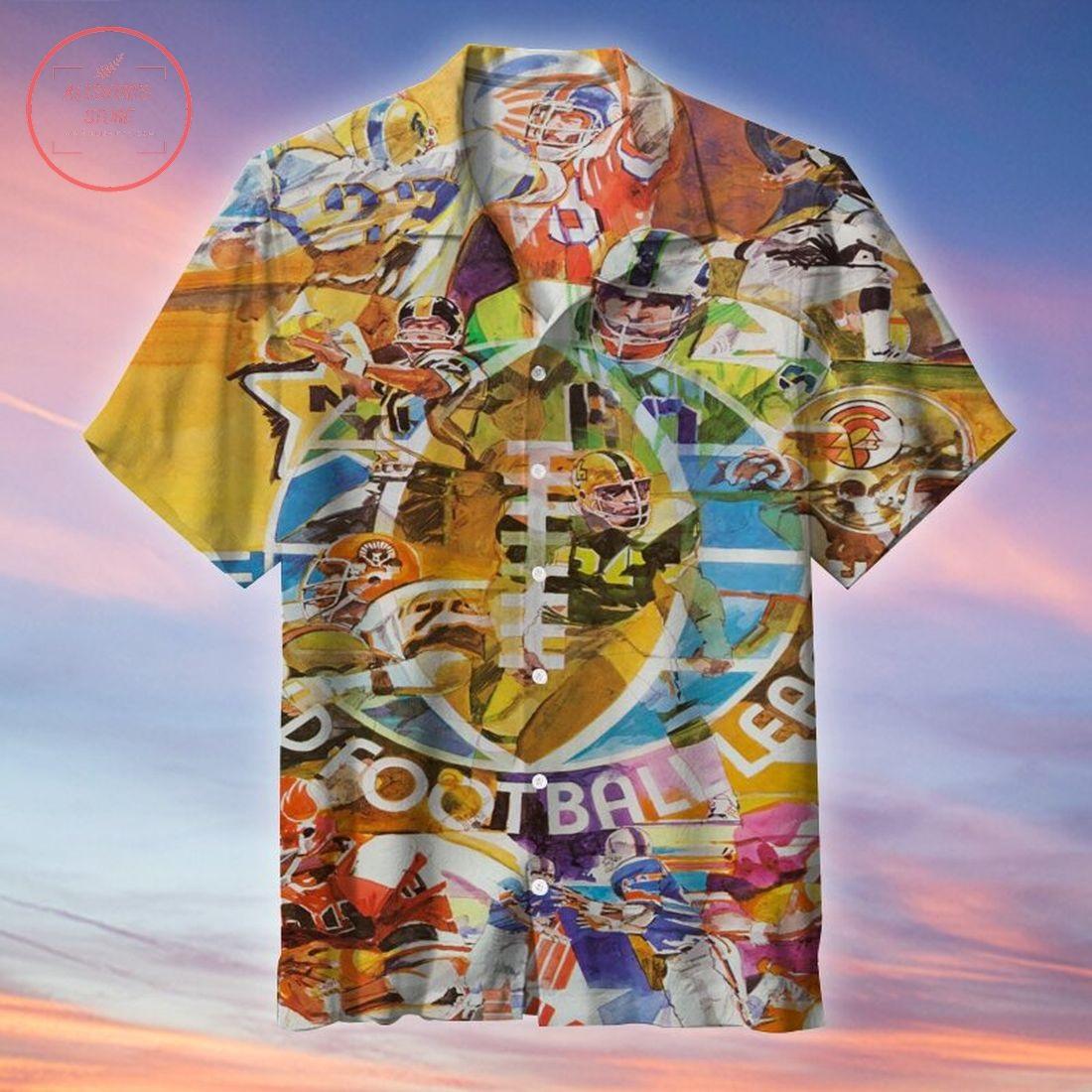 NFL World Football League Hawaiian Shirt