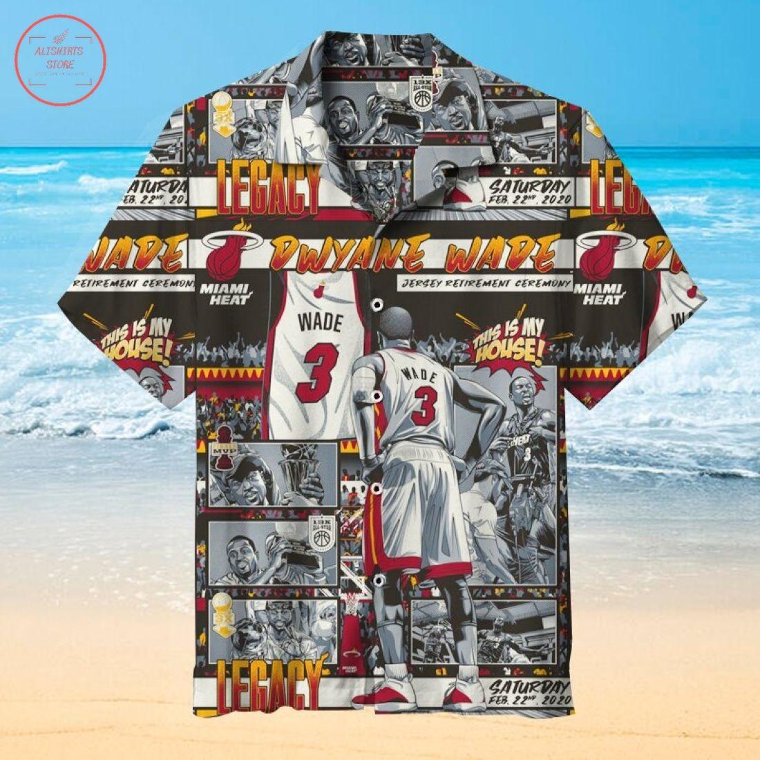 Nba Dwyane Wade Hawaiian Shirt