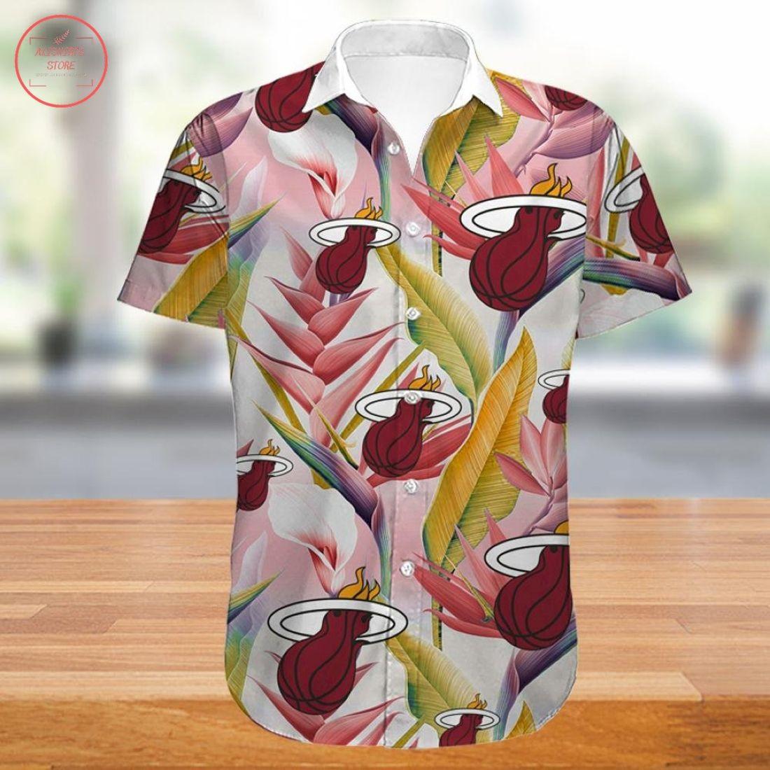 Nba Miami Heat Hawaiian Shirt
