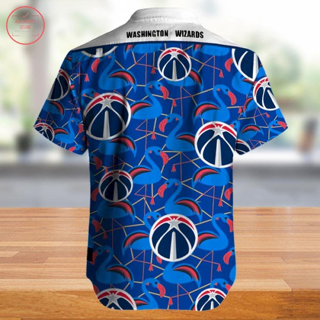 Nba Washington Wizards Hawaiian Shirt