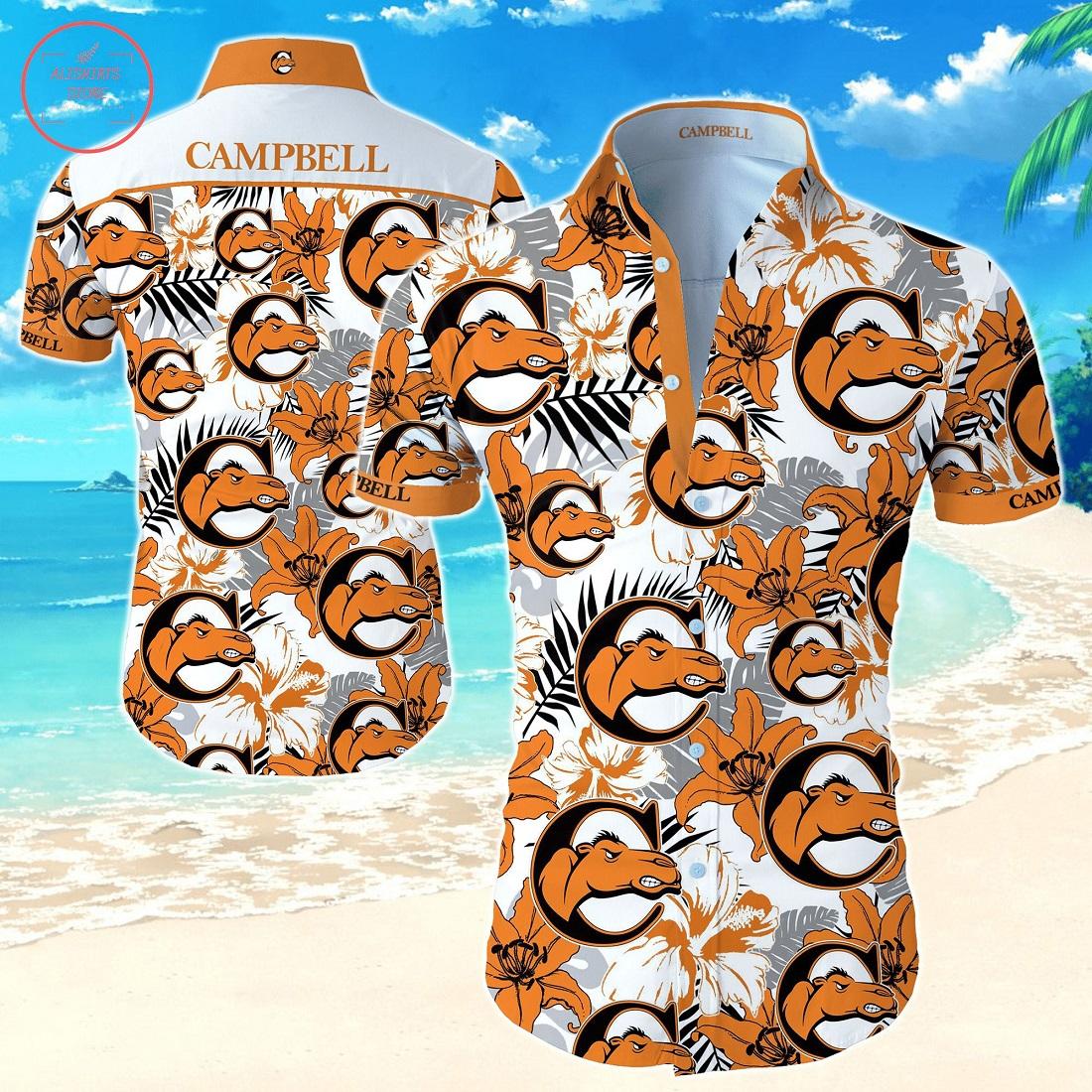 Ncaa Campbell Fighting Camels Hawaiian shirt