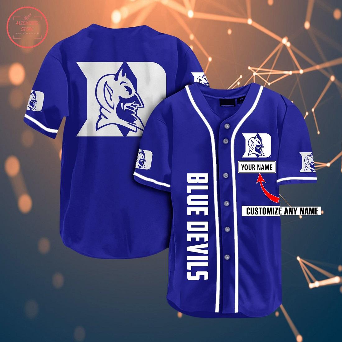 Ncaa Duke Blue Devils Personalized Baseball Jersey